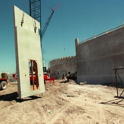 The new Salt Lake County Jail under construction.