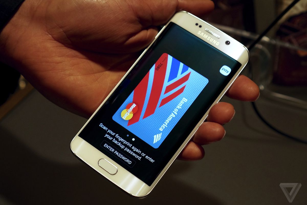 Samsung Pay works almost anywhere your credit card does