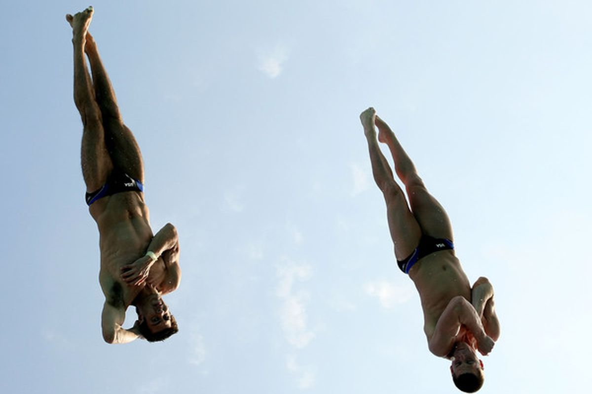 David Boudia won his fifth National Title for Purdue last night.