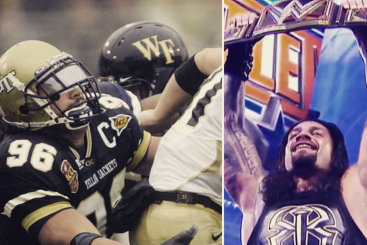 georgia tech s roman reigns is one of the most accomplished football