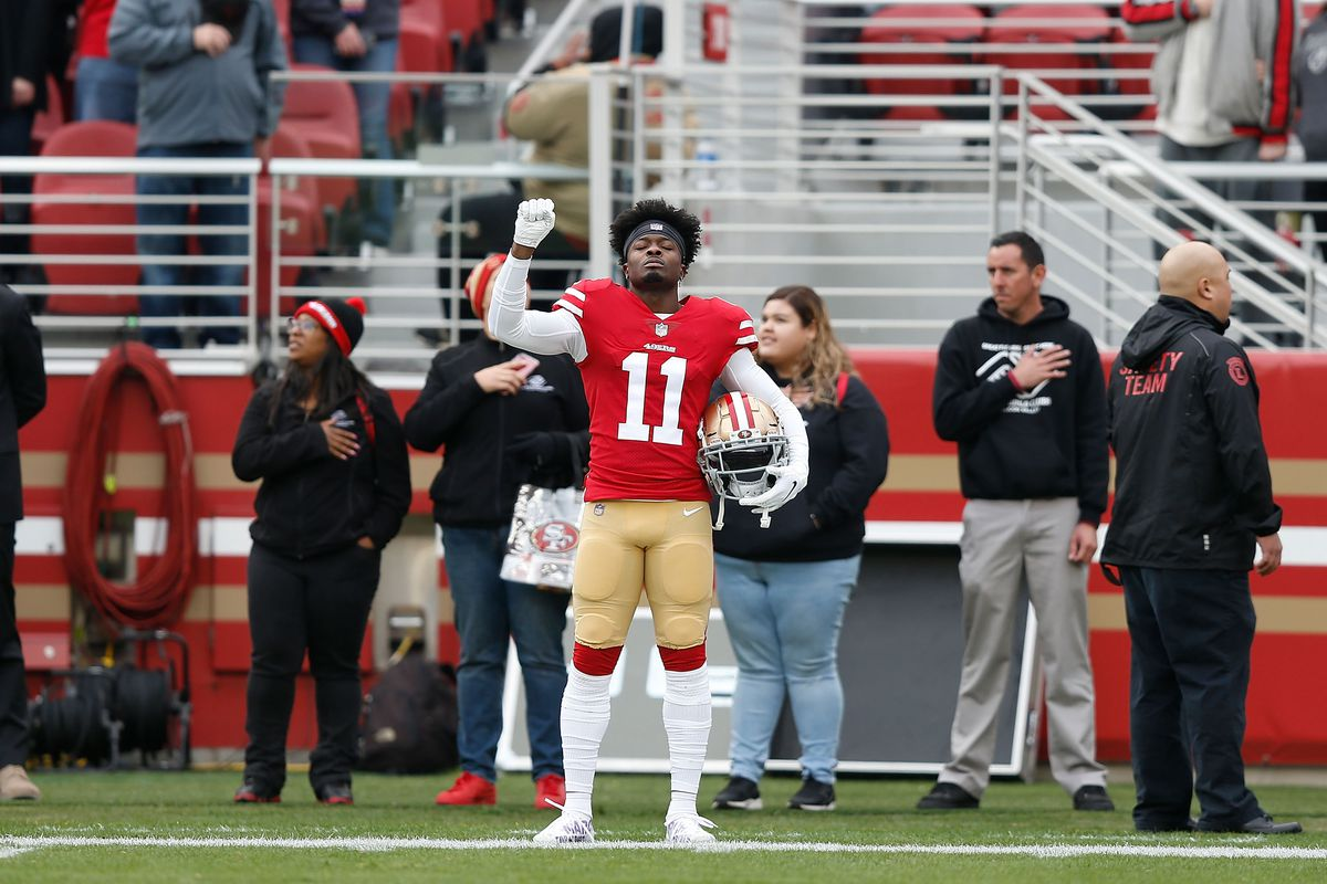 "49ers' WR Marquise Goodwin to compete in ""Forty Yards of Gold"""