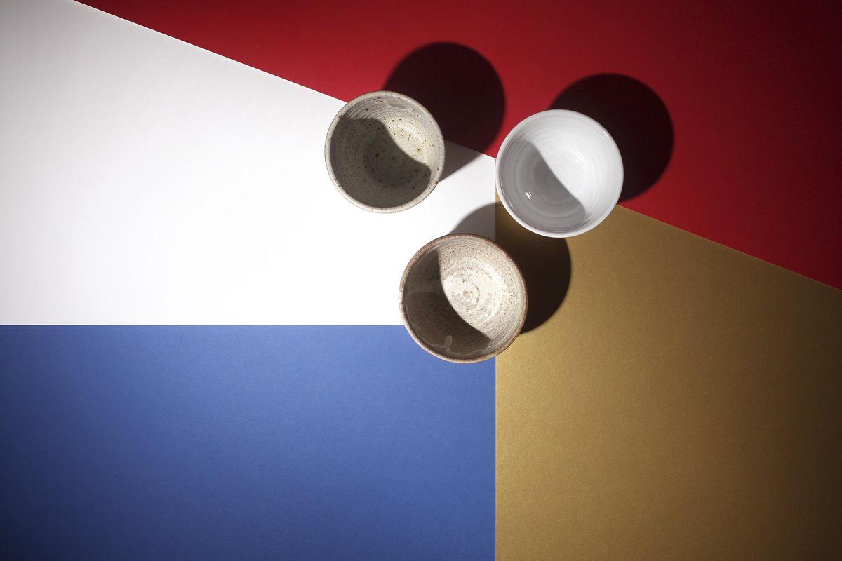 Skye Corewijn's Lazy Eye ceramics, used at London's best restaurants