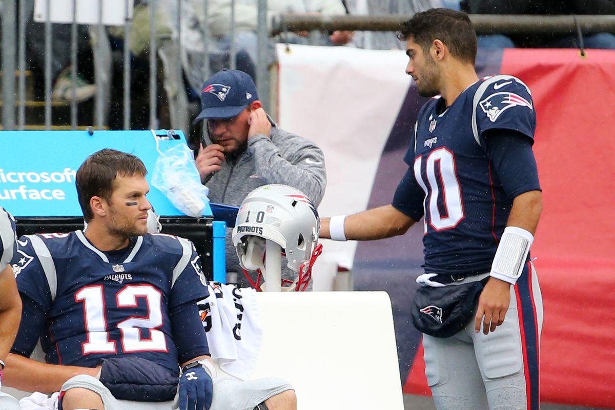finest selection 56fd9 b8627 Tom Brady vs. Jimmy Garoppolo: A comparison - Niners Nation