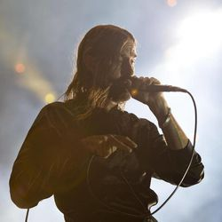 """Miike Snow performs at the """"Made In America"""" music festival on Saturday Sept. 1, 2012, in Philadelphia."""