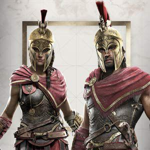 Assassin's Creed Odyssey - Kassandra and Alexios