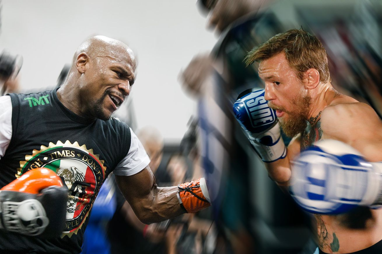 community news, Floyd Mayweather, Conor McGregor spar on Instagram over glove size