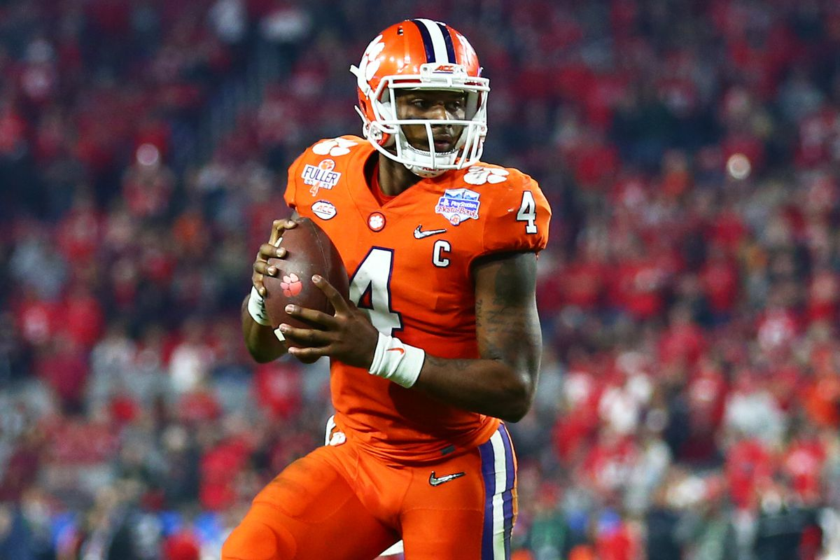 timeless design 92988 cdf51 NFL Mock Draft 2017: Kansas City Chiefs choose Clemson ...