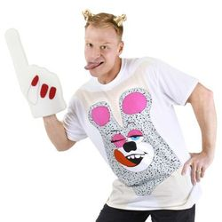 """The men's version of <a href=""""http://www.spirithalloween.com/product/el-teddy-bear-tshirt-adult-md/"""">Miley Cyrus'</a> VMAs look is slightly more family friendly."""