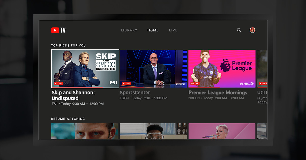 YouTube TV released for Amazon Fire TV devices and televisions