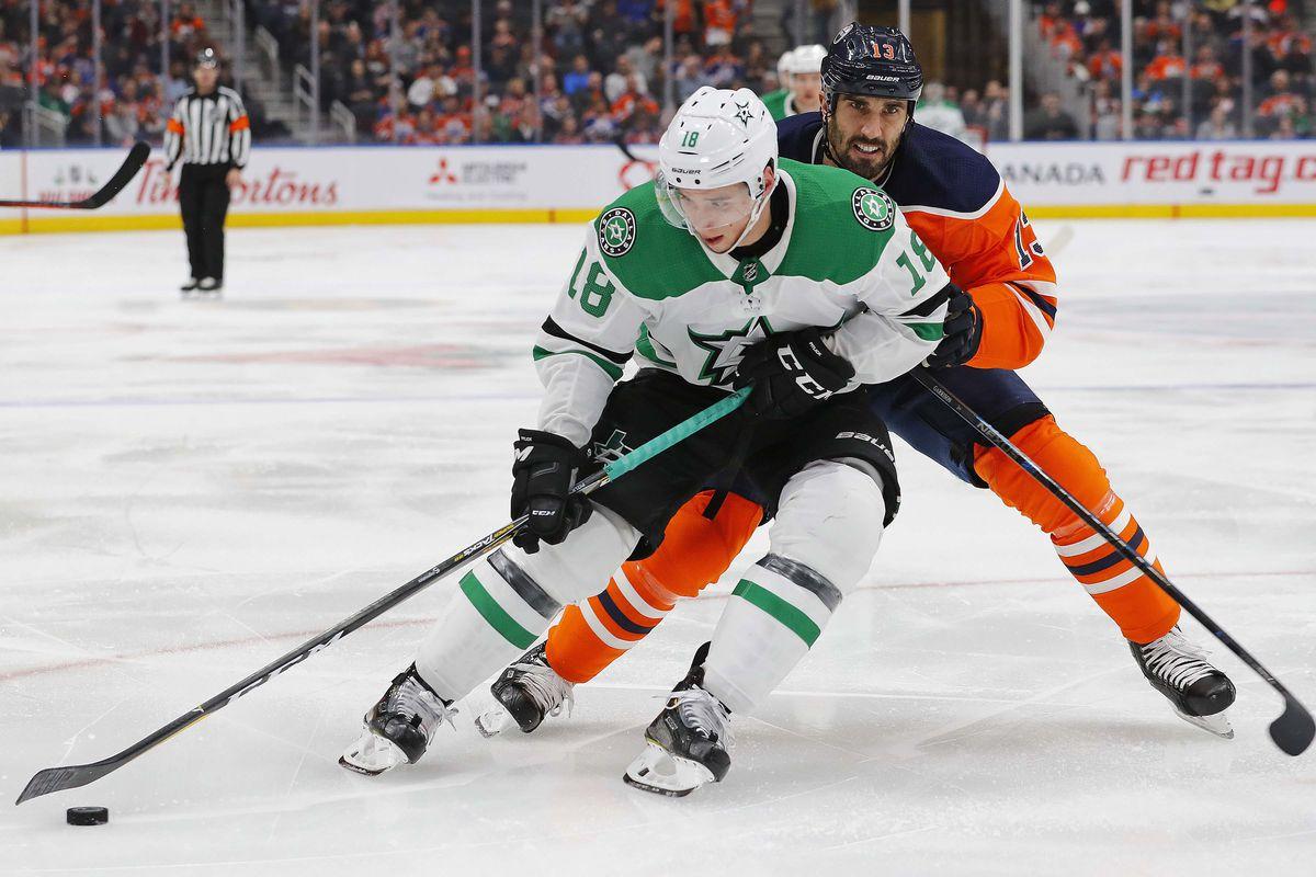 NHL: Dallas Stars at Edmonton Oilers