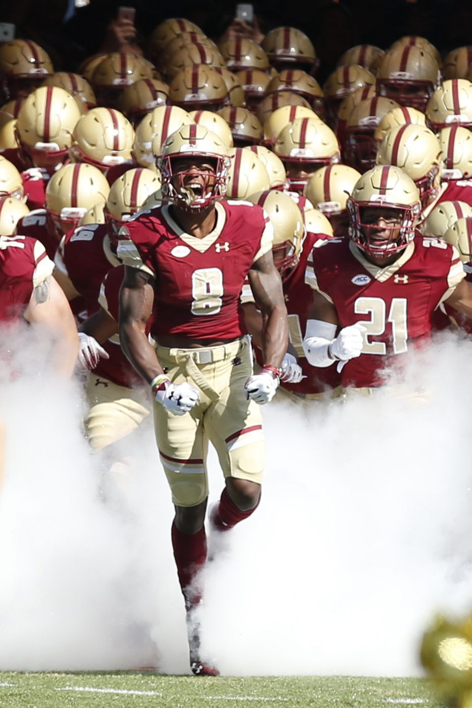 NCAA Football: Temple at Boston College