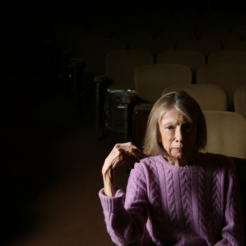 British playwright David Hare directs Joan Didion's 'The Year of Magical Thinking,' which is Didion