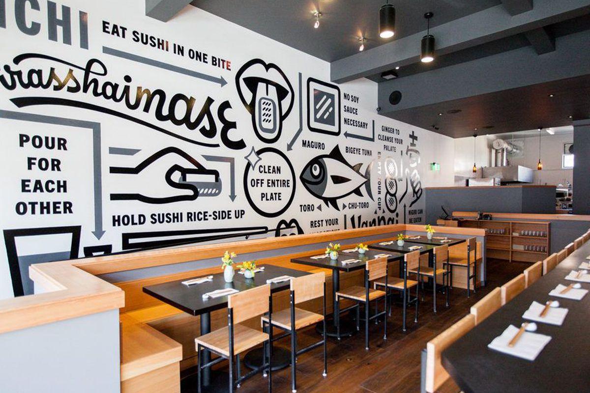 "<a href=""http://sf.eater.com/archives/2014/02/18/ichi_sushi_ni_bar_a_beautiful_bernal_expansion_1.php"">Ichi Sushi, San Francisco</a>."