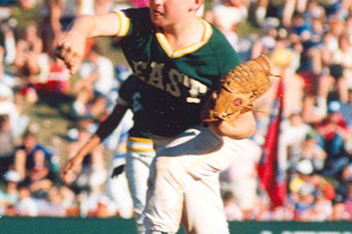 "Chris Drury in his Little League heyday  via <a href=""http://www.littleleague.org/Assets/images/stories08/DruryChris1_400px.jpg"">www.littleleague.org</a>"