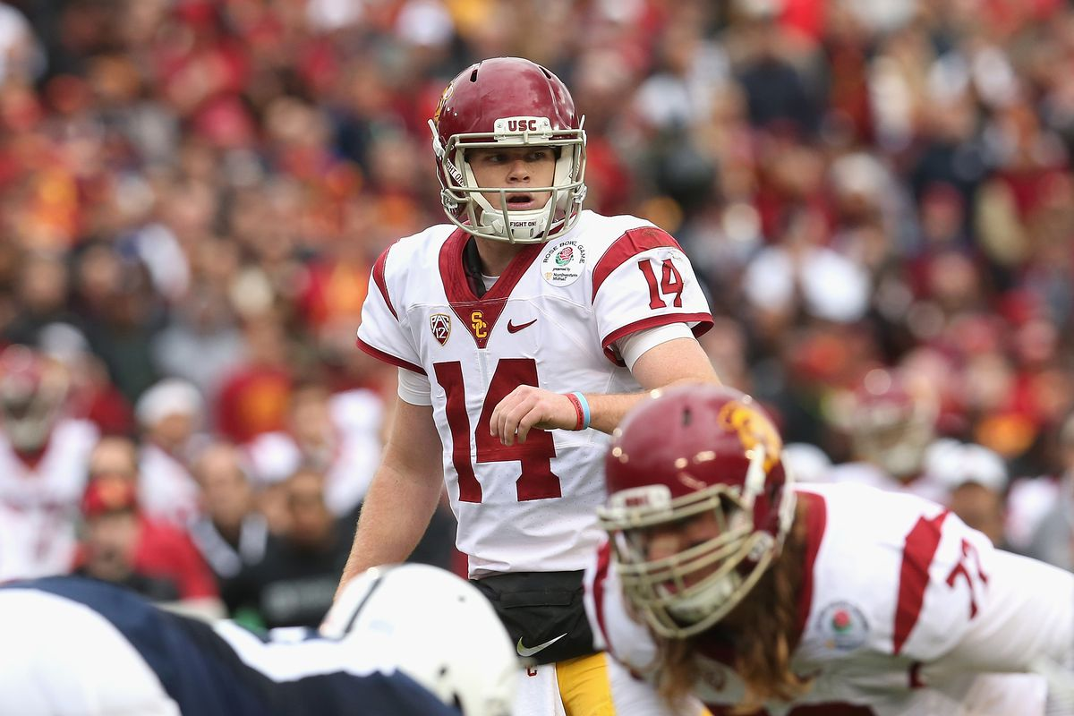reputable site 02b5a 40c18 How Sam Darnold could take USC to the College Football ...