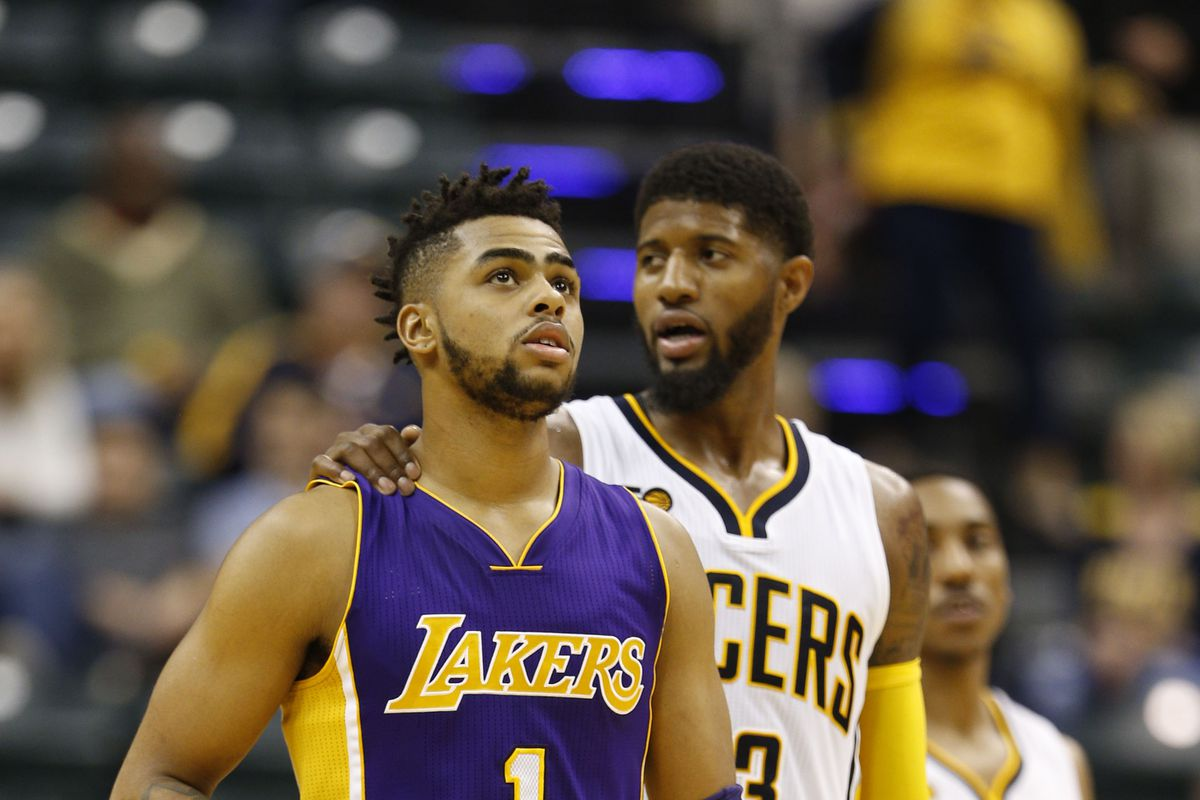 60a7517cd2b0 Lakers Trade Rumors  Paul George  wants to wear purple and gold ...