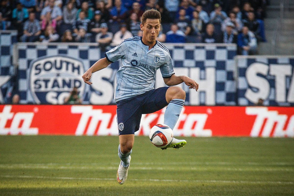 Nemeth has contributed two key goals in Sporting KC last two matches