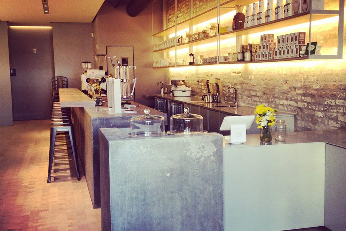Inside Revelator Coffee Co. in the Warehouse District