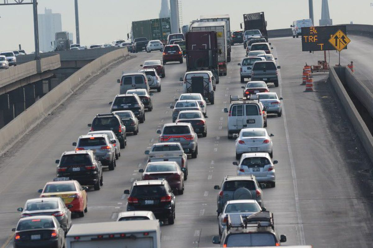 Stevenson lanes reopen after fatal crash involving IDOT