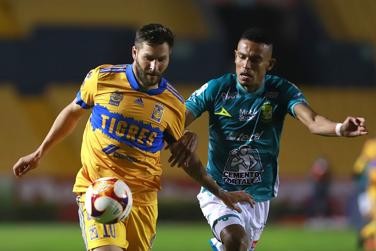 Tigres Get The Victory In Battle Of Current Champions Downing Leon 2 0 Fmf State Of Mind