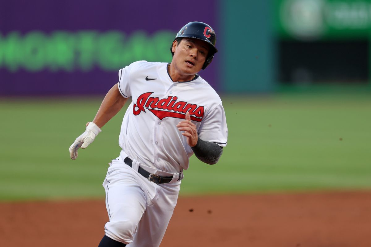 MLB: AUG 20 Angels at Indians