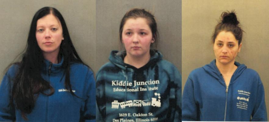 From left: Kristen M. Lauletta, Jessica S. Heyse and Ashley Helfenbein. | Des Plaines police
