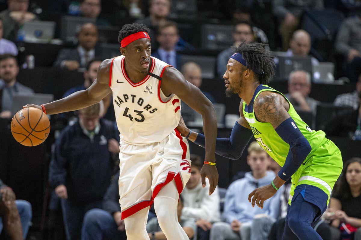 NBA: Toronto Raptors at Minnesota Timberwolves