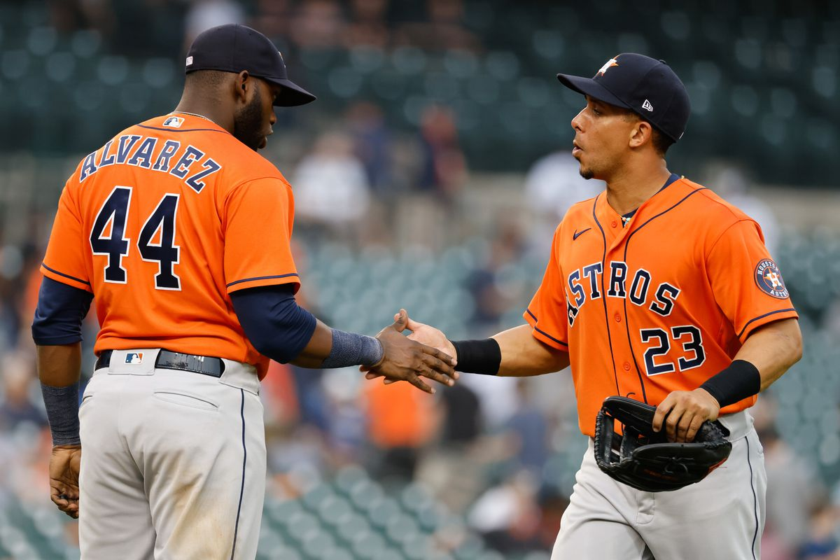 MLB: Game Two-Houston Astros at Detroit Tigers