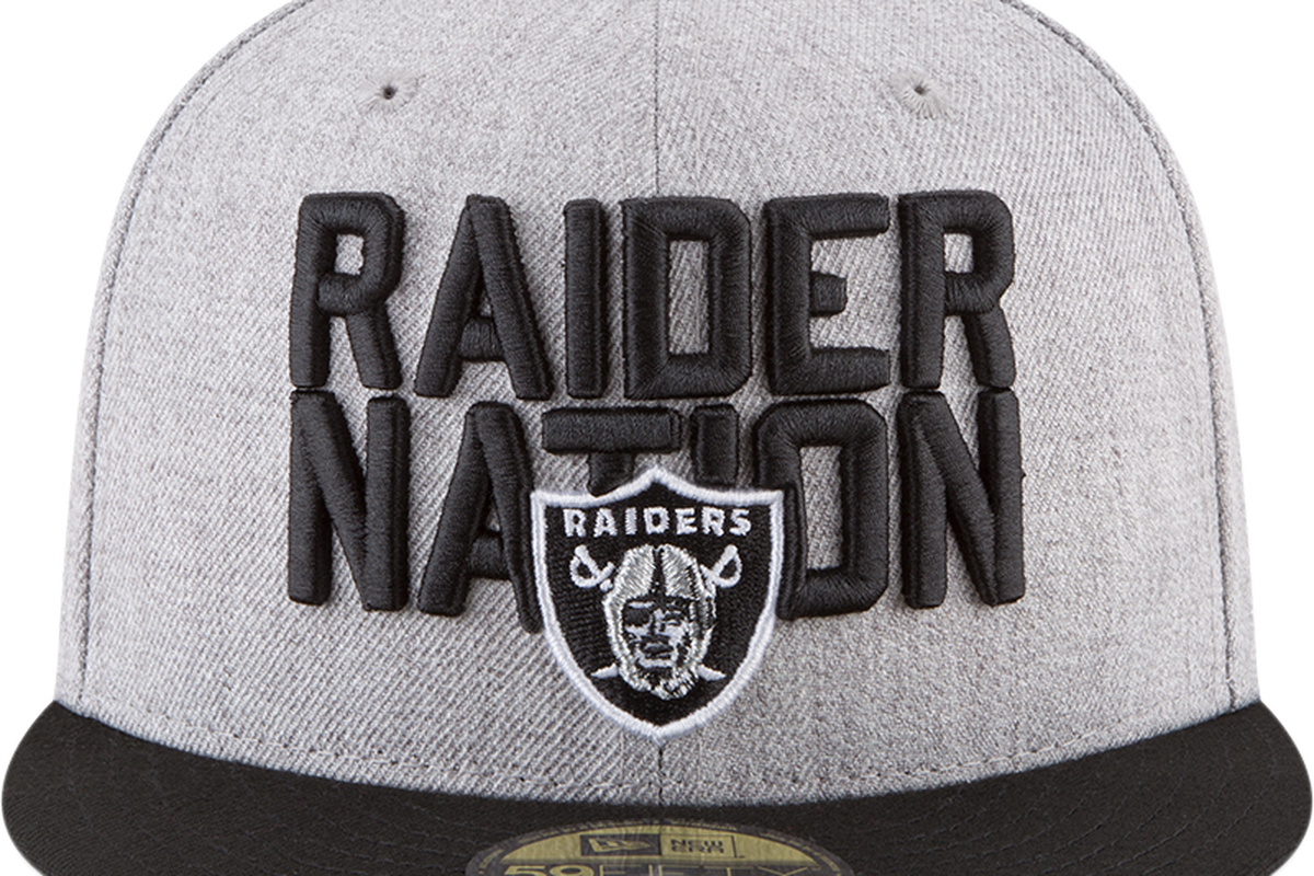 Look  Raiders 2018 NFL Draft cap - Silver And Black Pride 32726a4e32c