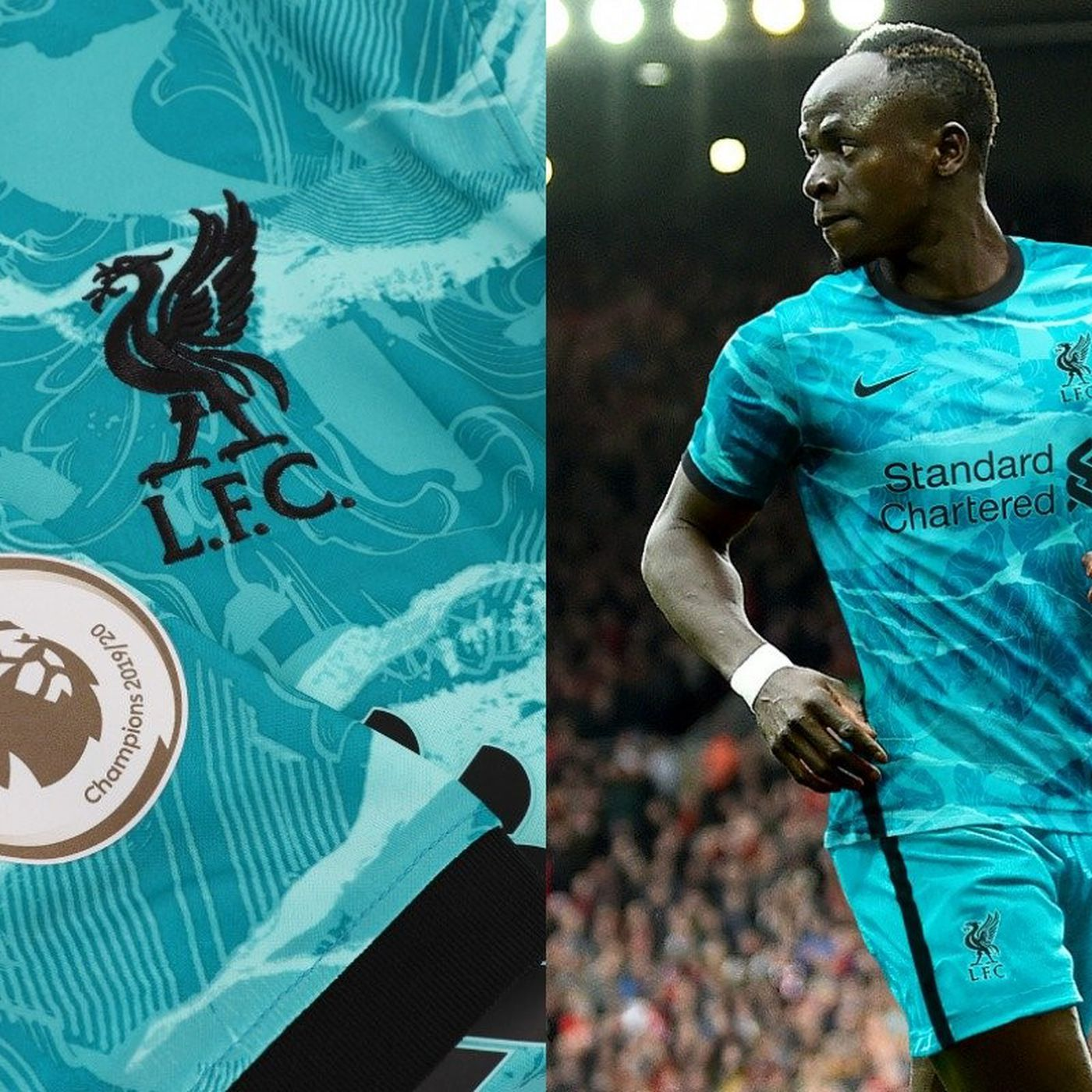 Sentirse mal parcialidad Destructivo  Nike Unveil New Teal And Black Liverpool Away Kit - The Liverpool Offside