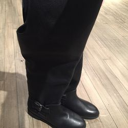 Tall leather boots, $130