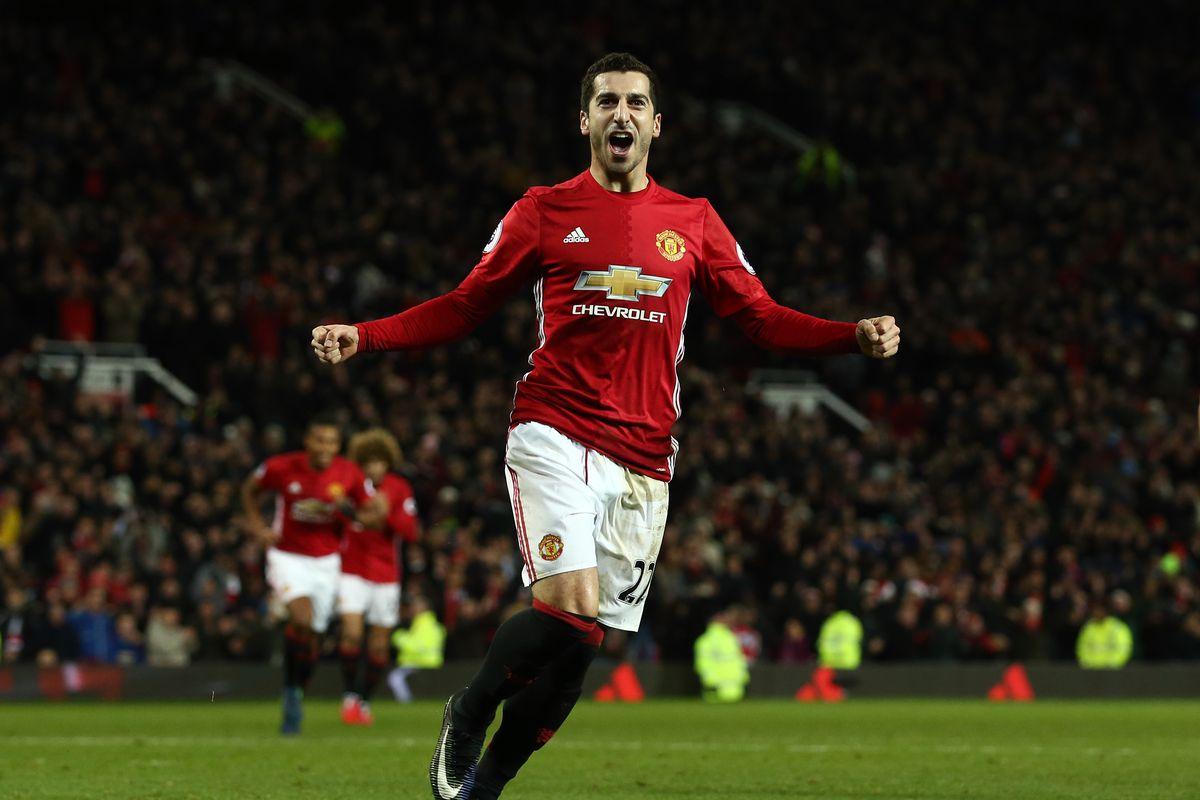 Manchester United 2016 17 Player Report Cards Henrikh Mkhitaryan