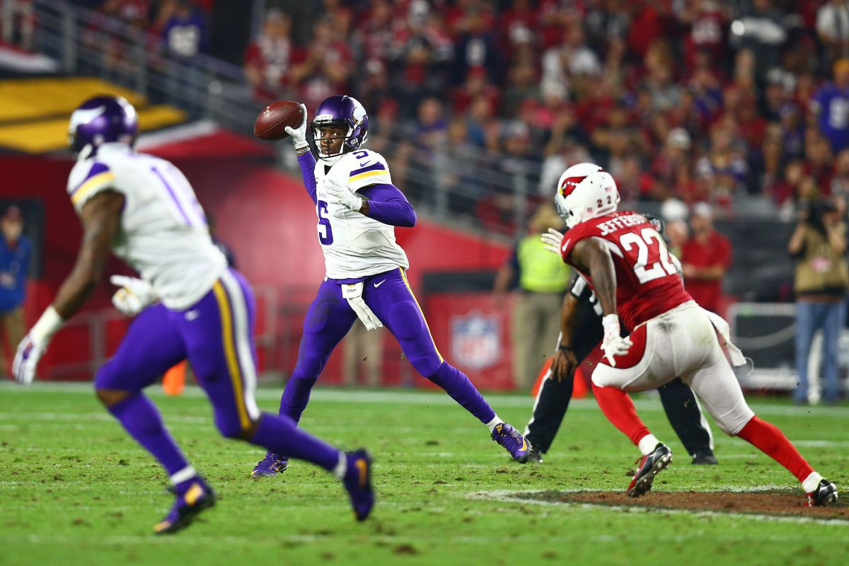 Teddy Bridgewater scored the most fantasy points of any Vikings player last week with 15.7 points.