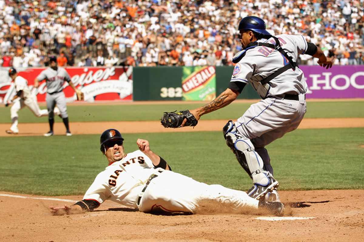After sweeping the Mets, the Giants are heading into Los Angeles with all sorts of momentum.