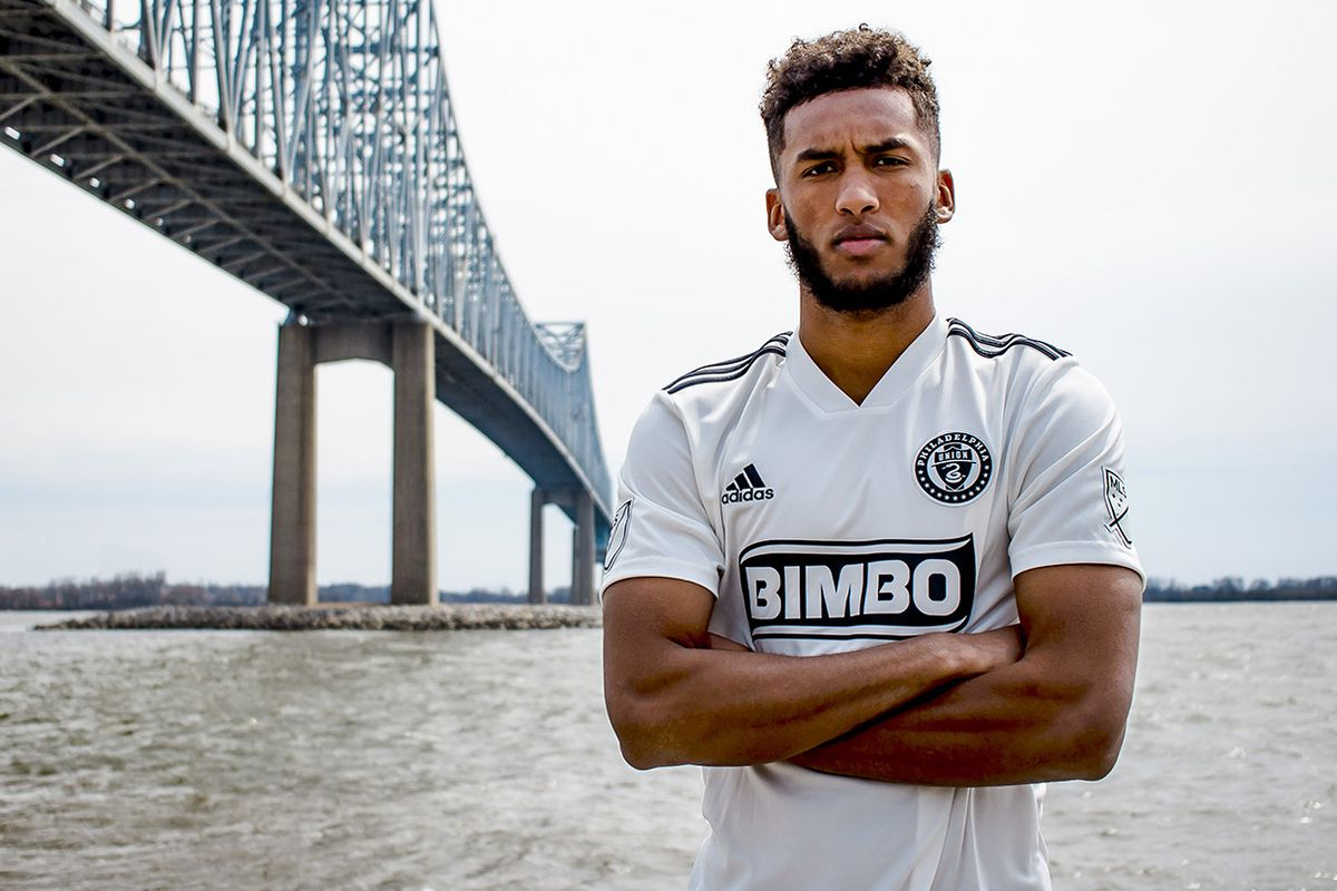 super popular 8e793 1a209 Philadelphia Union wearing recycled plastic jersey with ...