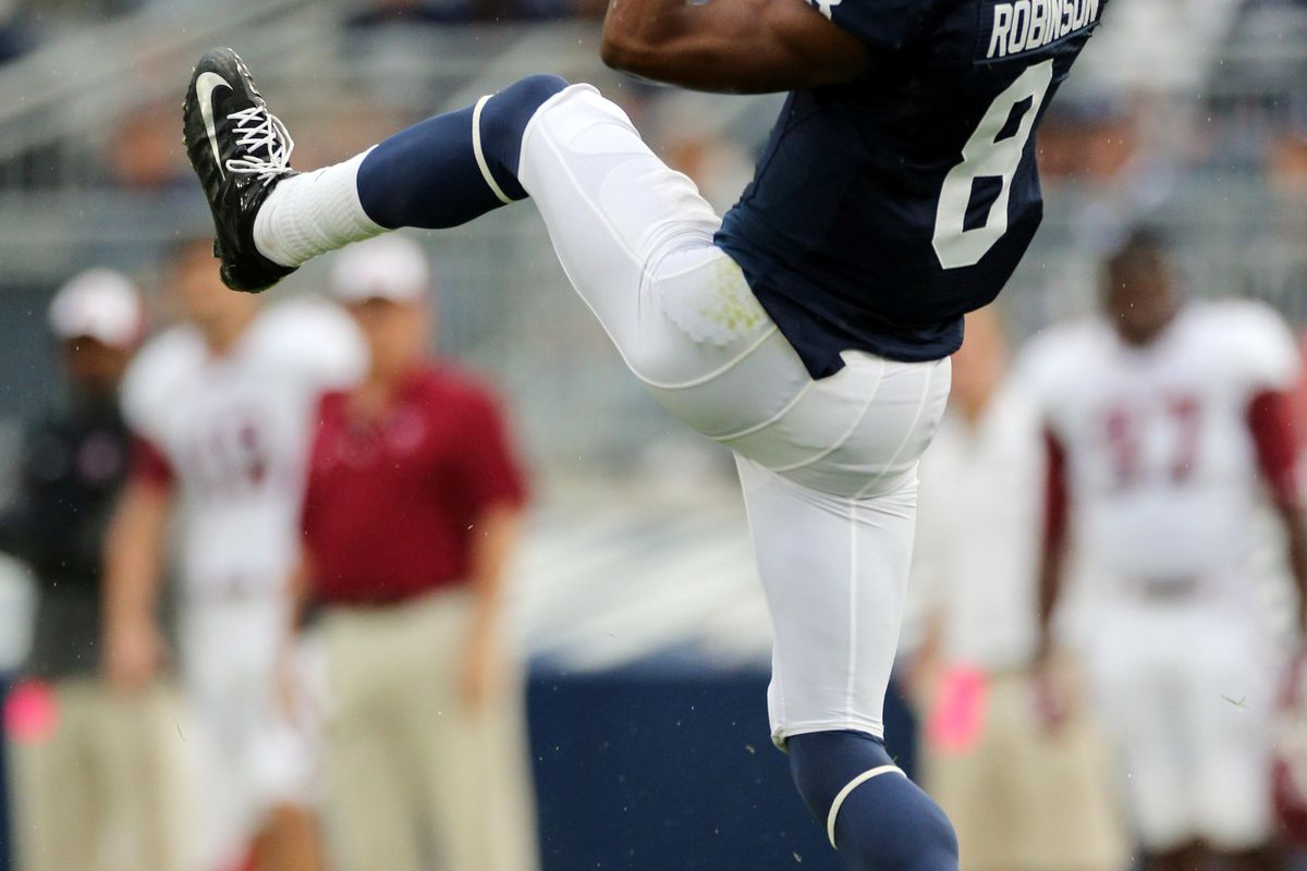 Allen Robinson might be the best receiver in the Big Ten. Is that nuts or what? (Rob Christy-US PRESSWIRE)