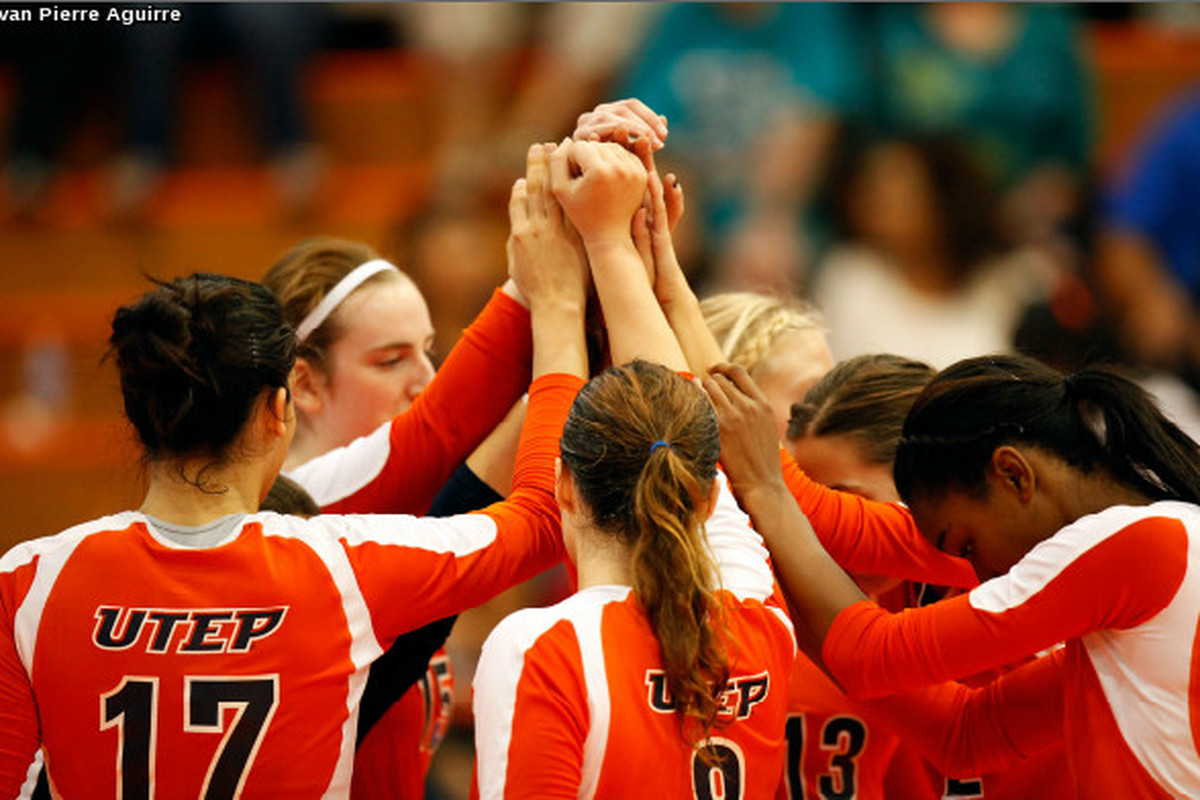 UTEP Volleyball - Photo Courtesy of Ivan Pierre Aguirre and UTEP Athletics.
