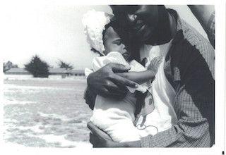 Rachel Wilson and father