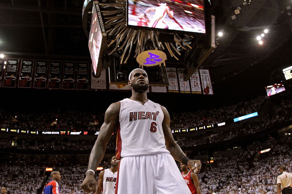 the best attitude 420c8 ceeb2 The Miami Heat And LeBron James, And Why It Still Feels Strange