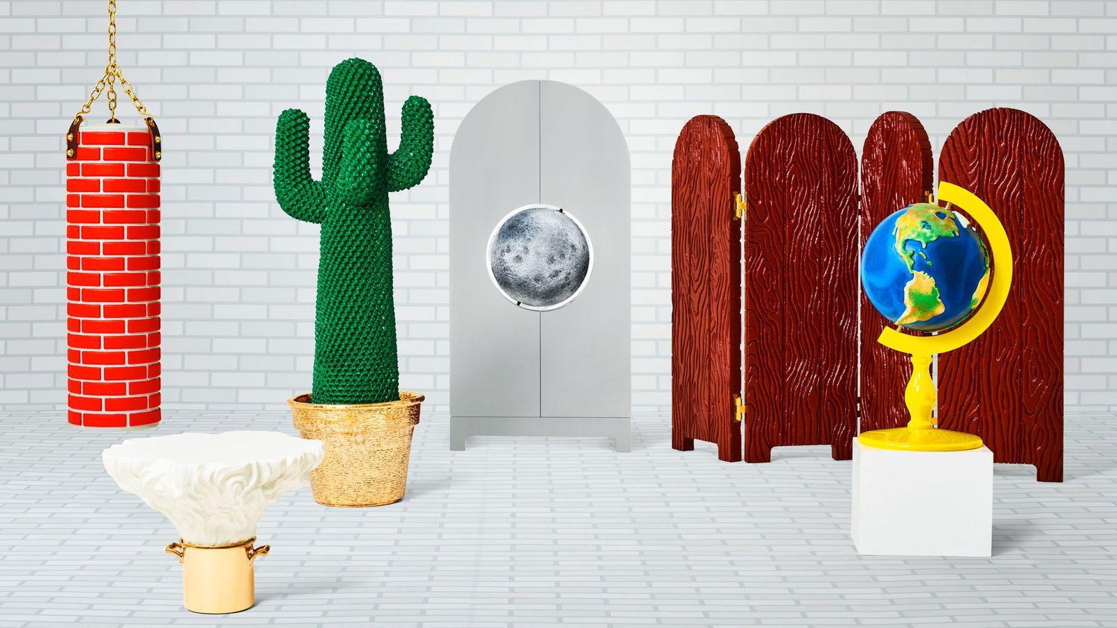 Line Between Art And Design : Studio job s new collection blurs the line between art and