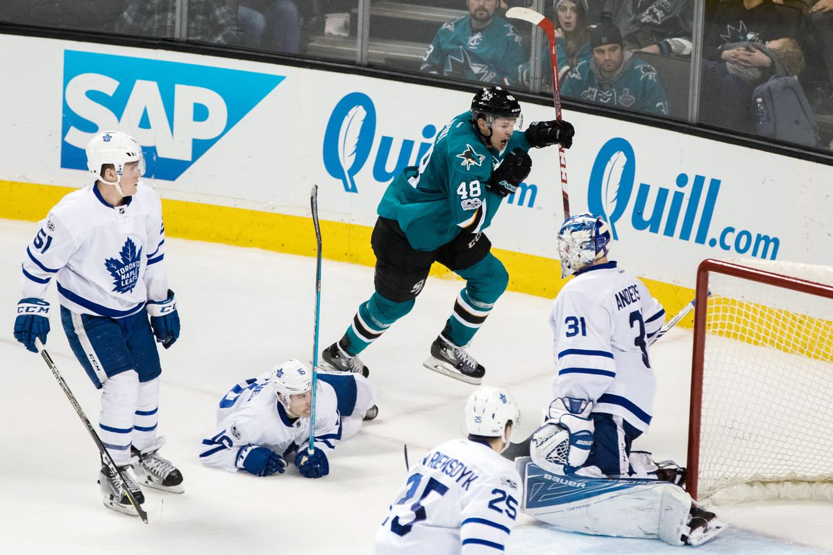 NHL: Toronto Maple Leafs at San Jose Sharks