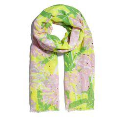 'Fan Dance' sequin scarf, $20