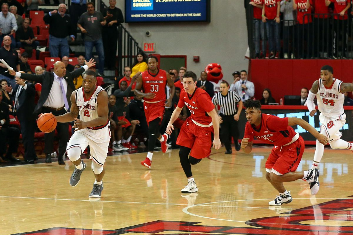 st. john's and rutgers schedule exhibition charity contest on nov. 5