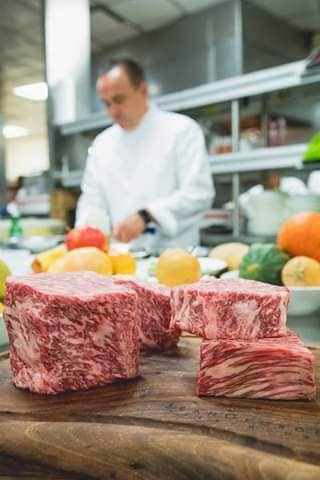 Kobe beef at Jean Georges Steakhouse