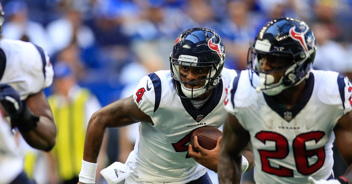 Houston Texans Final Score And Post-Game Recap: Texans 37, Colts 34 - Battle Red...
