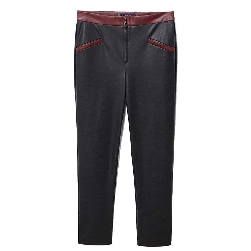 Violeta Plus Faux Leather Pant