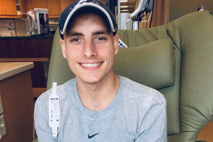 Gay college athlete is battling testicular cancer and needs your
