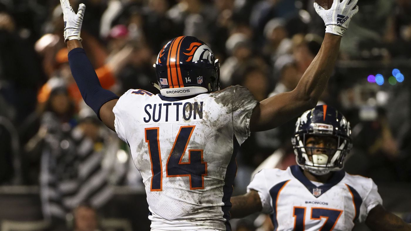 Courtland Sutton is ready to be the Denver Broncos red-zone weapon