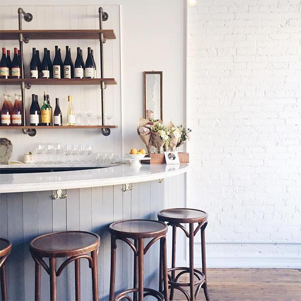 A marble bar