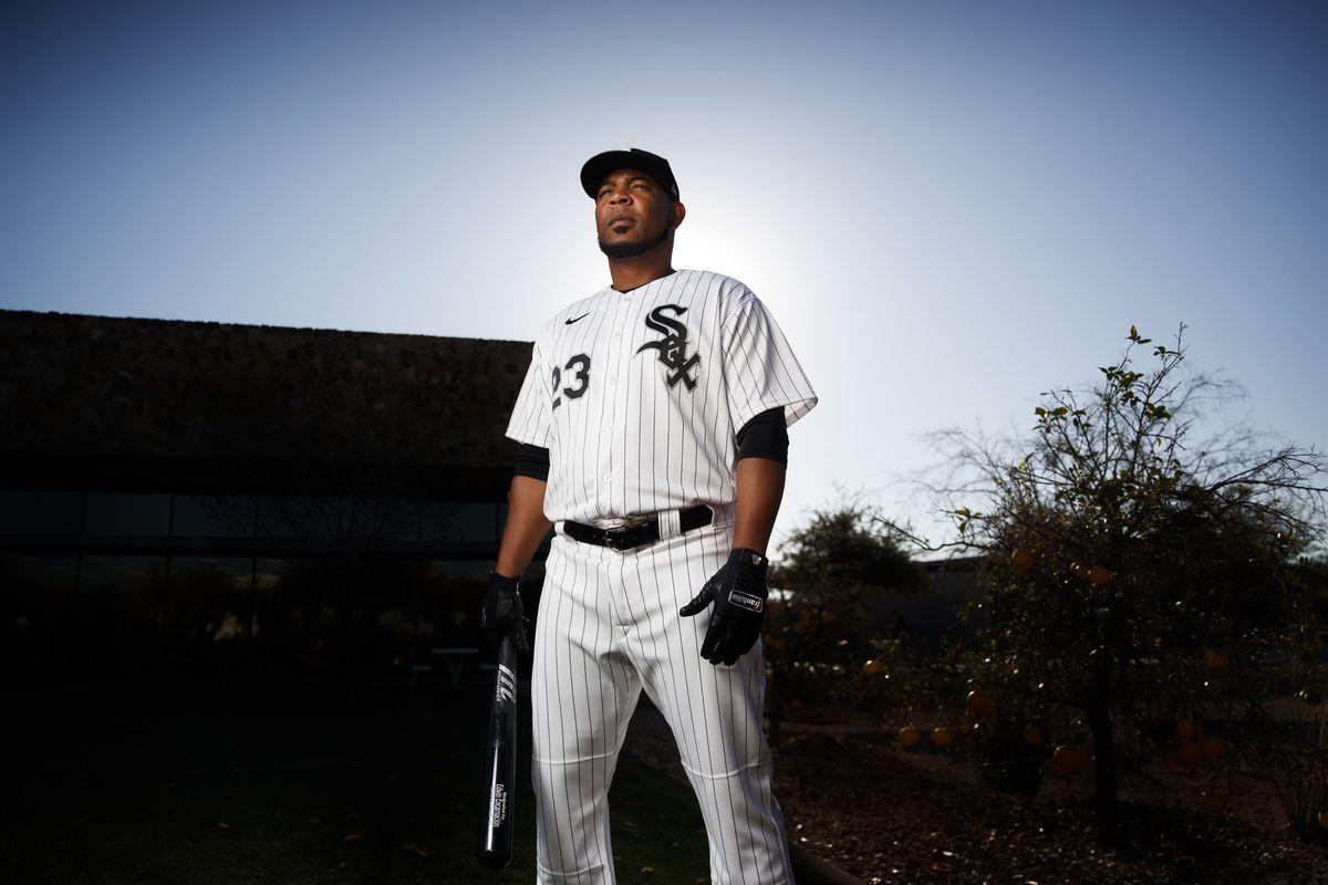 White Sox designated hitter Edwin Encarnacion